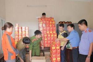 Bắt giữ đối tượng buôn bán, tàng trữ hơn nửa tấn pháo