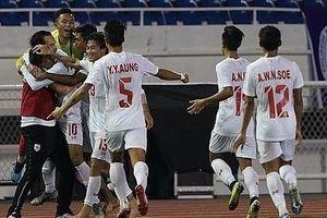 Đánh bại chủ nhà Philippines, U22 Myanmar độc chiếm ngôi đầu bảng A