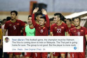 Đội nhà thua sốc, CĐV Thái Lan quay sang ủng hộ Việt Nam