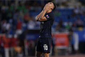 Bại trận trước U22 Myanmar, U22 Philippines đối mặt nhiều khó khăn