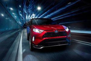 Toyota RAV4 Prime 2021 ra mắt, mạnh mẽ và siêu tiết kiệm xăng