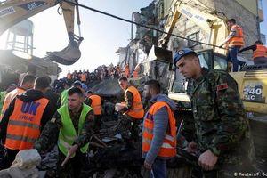 Albania tuyên bố quốc tang sau động đất, ít nhất 29 người thiệt mạng