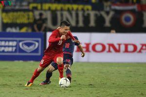 Clip: Quang Hải và Văn Hậu sáng cửa ra sân trong trận gặp ĐT Lào