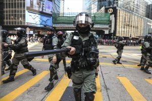 Cảnh sát HK nhận gần 1.300 đơn khiếu nại về cách đối phó biểu tình