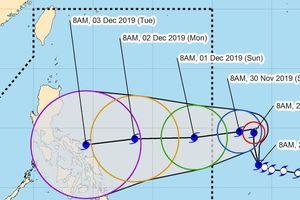 Siêu bão đổ bộ Philipines ngày U22 Việt Nam gặp Singapore