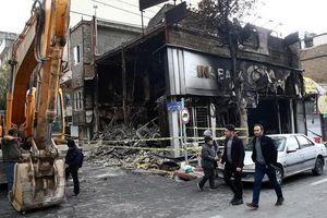 Iran: Hàng trăm ngân hàng, trụ sở chính quyền bị phóng hỏa