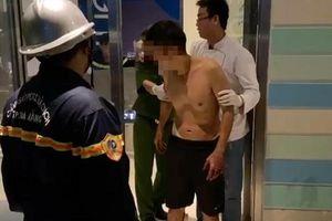 Đà Nẵng: Giải cứu người đàn ông định nhảy lầu từ tầng cao khách sạn