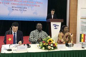 Tìm cơ hội hợp tác kinh doanh Việt Nam - Ghana