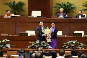 Quốc hội ban hành một số nghị quyết về công tác nhân sự