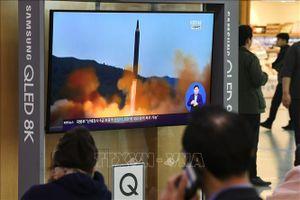 Nhật Bản xác định vật thể bay của Triều Tiên rơi bên ngoài vùng EEZ của nước này