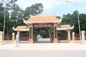 Xây dựng mở rộng nghĩa trang Thanh Tước (Hà Nội): Cần sớm tháo gỡ vướng mắc