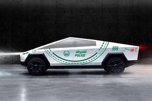 Cảnh sát Dubai sẽ đặt mua Tesla Cybertruck làm xe tuần tra