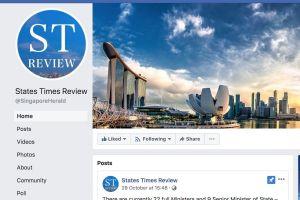 Singapore yêu cầu Facebook phải đính chính thông tin không chính xác