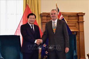 Việt Nam - New Zealand cùng hướng tới quan hệ đối tác chiến lược