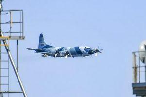 P-3F Orion Iran bay thấp uy hiếp tàu Hải quân Mỹ