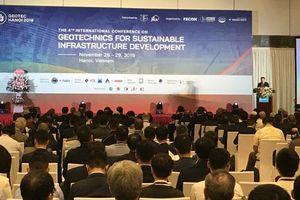 Nhiều giải pháp về địa kỹ thuật và hạ tầng được công bố