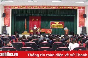Huyện Tĩnh Gia công bố Nghị quyết số 786/NQ-UBTVQH14 của Ủy ban Thường vụ Quốc hội về sắp xếp các đơn vị hành chính cấp xã