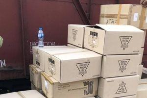 Bắt giữ lô hàng mỹ phẩm rởm trị giá cả tỷ đồng tại bến xe Giáp Bát