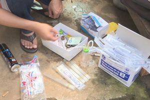 Cặp vợ chồng nghiện chuyên cung cấp ma túy cho các con nghiện