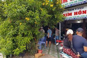 Bắt kẻ dùng búa cướp tiệm vàng ở Long An