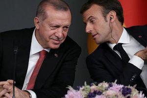 Ông Erdogan hỏi sốc tổng thống Pháp 'có bị não tàn'?