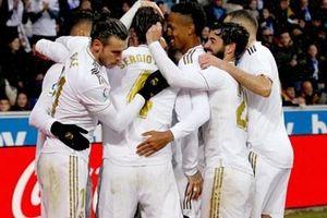 Vòng 15 La Liga: Thắng nhọc Alaves, Real tạm chiếm ngôi đầu