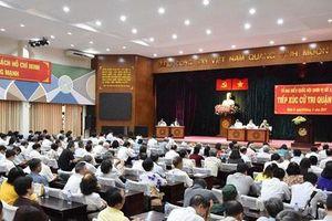 Lịch tiếp xúc cử tri TPHCM sau kỳ họp thứ 8 Quốc hội khóa XIV