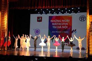Gala chào mừng 'Những ngày Matxcơva tại Hà Nội'