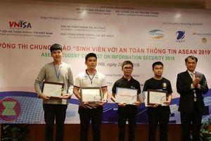 Việt Nam giành giải nhất cuộc thi 'Sinh viên với An toàn thông tin ASEAN 2019'