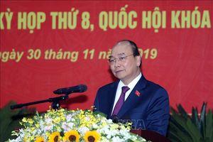 Thủ tướng Nguyễn Xuân Phúc tiếp xúc cử tri huyện Cát Hải, thành phố Hải Phòng
