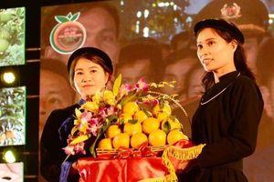 Bắc Giang: 20kg cam và 11 quả bưởi được đấu giá 144 triệu đồng