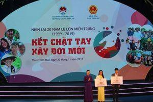 Hỗ trợ xây dựng 175 căn nhà an toàn trước thiên tai tại Huế, Quảng Nam