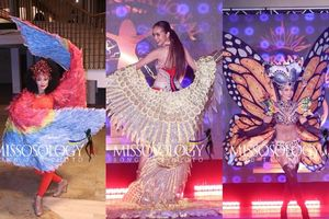 Thất lạc nón dài 1,2m, Ngọc Châu tuột giải trang phục dân tộc đẹp nhất ở Miss Supranational, Mexico lội ngược dòng
