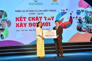 Tặng 175 căn nhà an toàn cho người dân miền Trung tại chương trình 'Kết chặt tay, xây đời mới'