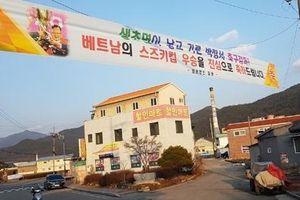 Hàn Quốc sẽ xây làng Việt ở quê HLV Park Hang-seo