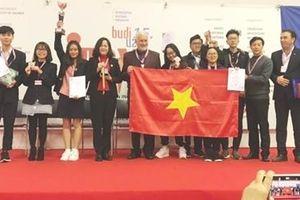Việt Nam giành Cup và HCV cuộc thi 'Phát minh sáng chế quốc tế INOVA' 2019