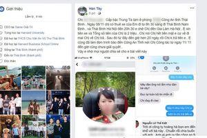 Nữ trung tá công an Thái Bình bị tố 'bùng' tiền thuê xe