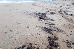 Tàu Thái Lan chìm trên biển Hà Tĩnh: Xử lý sự cố vết dầu loang 3km bờ biển