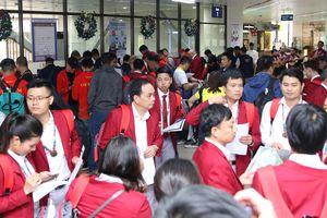 Tránh bão Kammuri, 127 thành viên đoàn Việt Nam sang Philippines sớm