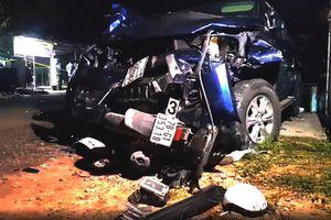 Hiện trường ôtô bán tải tông chết 4 người ở Phú Yên