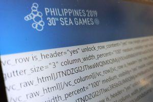 Trang web SEA Games 30 sập sau ngày khai mạc