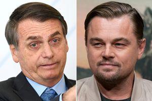 Leonardo DiCaprio đáp trả TT Brazil khi bị đổ lỗi làm cháy rừng Amazon