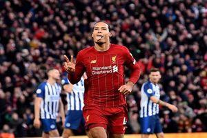 Thắng Brighton 2-1, Liverpool xây chắc ngôi đầu