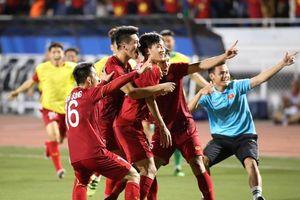 Thắng kịch tính 2-1, U22 Việt Nam củng cố ngôi đầu