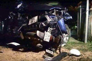 Ba người nhập viện sau tai nạn giao thông nghiêm trọng ở Phú Yên