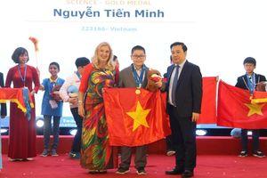 Học sinh Việt Nam giành 36 huy chương tại kỳ thi IMSO 2019