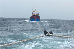 Các sự cố trên sông, biển đã và đang được ứng cứu, xử lý