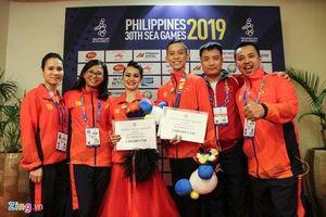 Cặp VĐV Việt Nam 'minh oan' cho VĐV chủ nhà Philippines