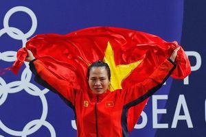 Vương Thị Huyền giành HCV đầu tiên cho cử tạ Việt Nam tại SEA Games 30