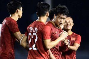 U22 Việt Nam rộng cửa đi tiếp sau trận thắng Indonesia